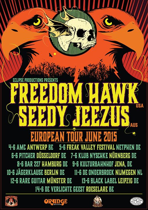 FREEDOM HAWK @ FREAK VALLEY FESTIVAL
