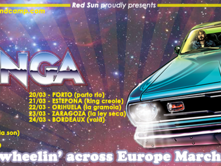 LA CHINGA | Freewheelin' across Europe March Tour | 2016